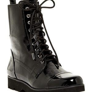 Donald J. Pliner Camren Crinkle Patent Boots